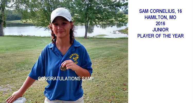 2016 JUNIOR PLAYER OF YEAR SAM